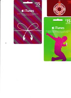 iTunes Gift Cards ($40 worth of cards for $25)