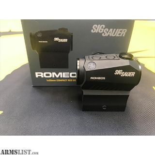 For Trade: Sig Romeo 5, WTT low powered optic