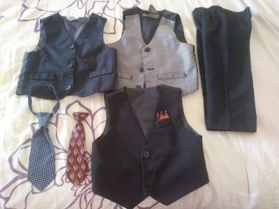 Baby boy suits and other dress clothes