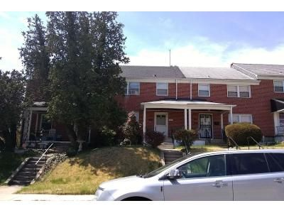 1.5 Bath Preforeclosure Property in Baltimore, MD 21239 - Heathfield Rd