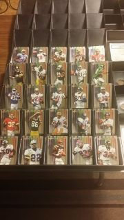 1998 National Football League (NFL) Spectrum Edge Trading Cards