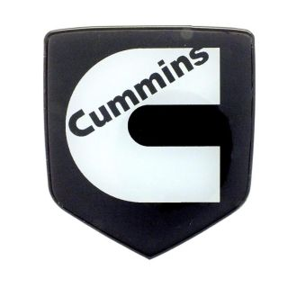 Sell Cummins Emblem DODGE GRILLE 2006 - 2010 PEARL WHITE motorcycle in Lynchburg, Virginia, US, for US $26.50