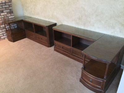 "Rare Antique, Quality Mahogany ""L"" Shaped Estate bookcase"