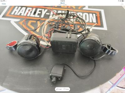 Motorcycle STEREO SYSTEM