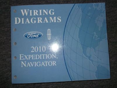 Purchase 2010 Ford Expedition & Lincoln Navigator Wiring Diagrams Shop Manual OEM motorcycle in Sterling Heights, Michigan, United States, for US $59.95