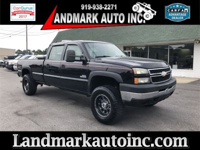 2006 Chevrolet Silverado 3500 Work Truck (BLACK)