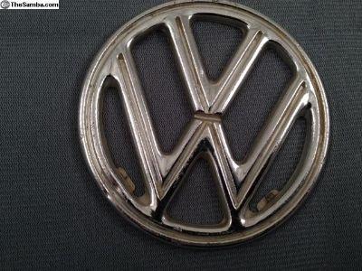 VW Hood Emblem - '52-'60 Beetle 4-Tab