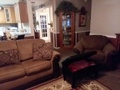 Couch ,chair and oterman
