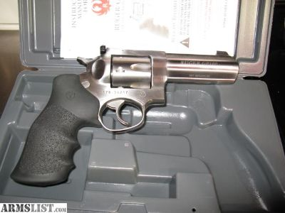For Sale: Ruger Stainless GP-100 With Extras