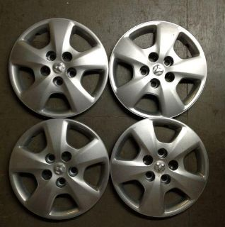 "Find Set 4 15"" Factory OEM Dodge Caliber Hubcaps Silver Hub Cap 5 Lug 5151424AA 8036 motorcycle in Holt, Michigan, US, for US $30.00"