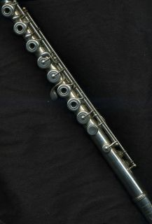 1973 William S. Haynes Flute with 14K gold lip plate