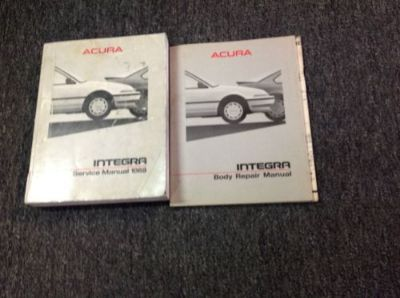 Find 1988 ACURA INTEGRA Service Repair Shop Repair Workshop Manual Set W Body Book motorcycle in Sterling Heights, Michigan, United States, for US $89.99