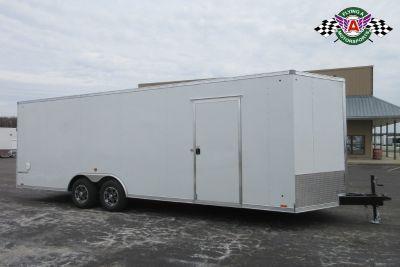 2020 Pace American 24' Cargo Sport Bull Nose Car Hauler