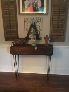 One of a kind!! Console table!!