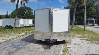 6x12Enclosed Trailer Extra Height