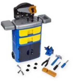 Kid's Rolling Tool Chest