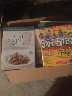 TONS AND TONS of cookbooks!!!