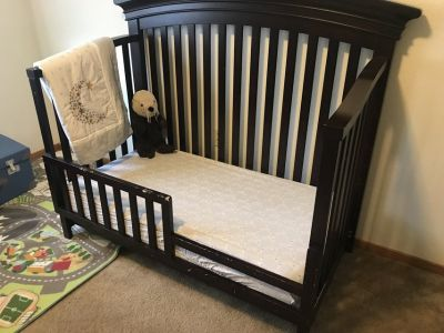 Crib, Changing Table/Dresser, Tall Dresser