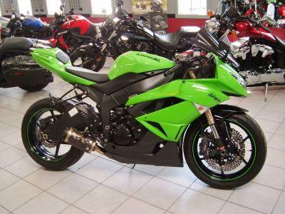 2009 Kawasaki Ninja ZX -6R SuperSport Motorcycles New Haven, CT