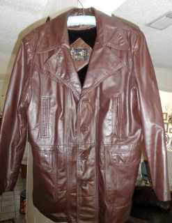 Size 42T Mens Western Leather Jacket