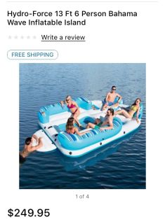 6 person 13 ft Hydro Float