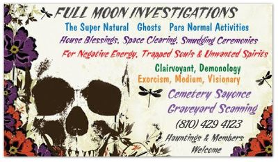 Para-Normal Investigator Seeks Live-In Position At Haunted Home