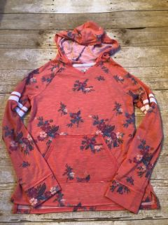 Mudd sz 12 floral hooded top euc $5