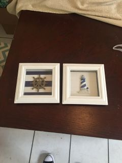 Small Nautical Shadow Box Pictures
