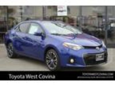 Used 2016 Toyota Corolla Blue Crush Metallic, 48.3K miles