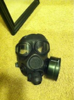 $350 Army M45 Gas Mask w/ Filter