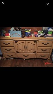 Dresser and matching night stands