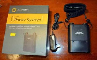 Pro Master Camera Flash Power System Model FBP-4500