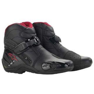 Purchase Alpinestars S-MX2 Motorcycle Boots Red Size 8-9 motorcycle in Fort Lauderdale, Florida, United States, for US $140.00
