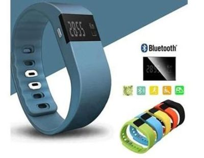Fitness and activity tracking smart band
