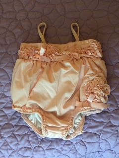NEW!!!!Kate Mack 3 mo pale pink bathing suit