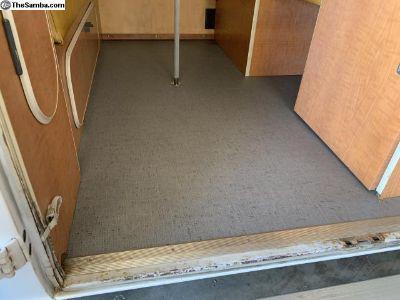 Westfalia camper flooring