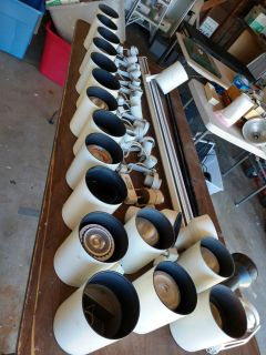 Track Lighting Heads-Lot of 37 misc.