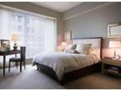 This great Two BR, Two BA sunny apartment is located in the Back Bay area on