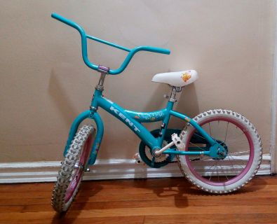 Girl's Kent Bicycle 16 inches