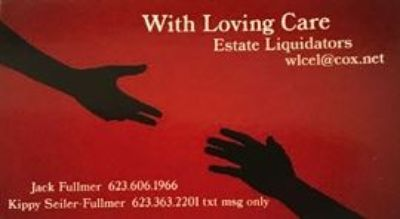 With Loving Care Estate Liquidators WELL KNOWN INTERIOR DESIGNER LIQUIDATION SALE