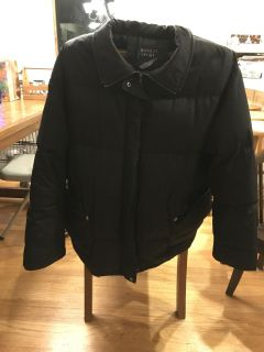 Large women s real down coat $20