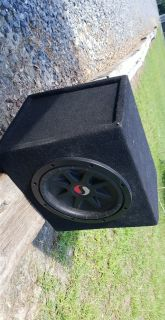 Kicker 10in sub with big magnet