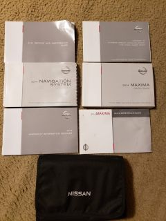 2015 Nissan Maxima Complete Owners Manual