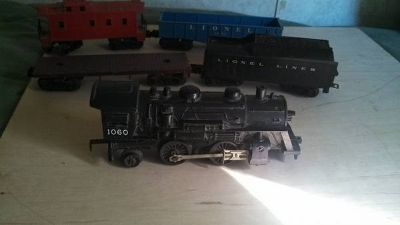 lionel train from the 1960s   (plastic)