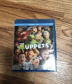 Muppets Blu-Ray and DVD