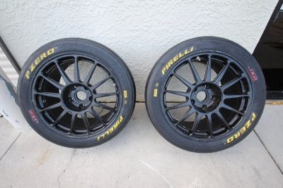 HRE Wheels with Pirelli slicks for sale