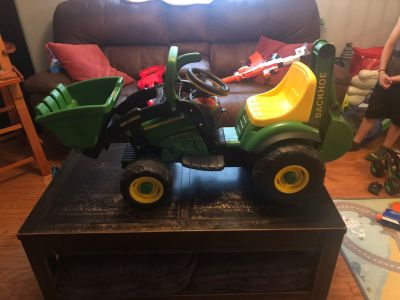 6V John Deer Mini Loader Ride on