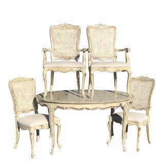 Henredon Country French Dining Table and Chairs