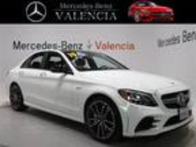 Used 2019 Mercedes-Benz C-Class White, 4.38K miles