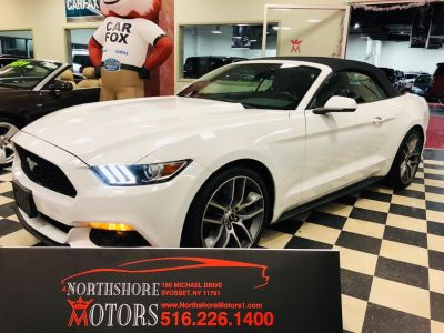 2016 Ford Mustang 2dr Conv EcoBoost Premium (Oxford White)
